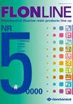 新製品総合カタログ「NR50000 FLON LINE」表紙
